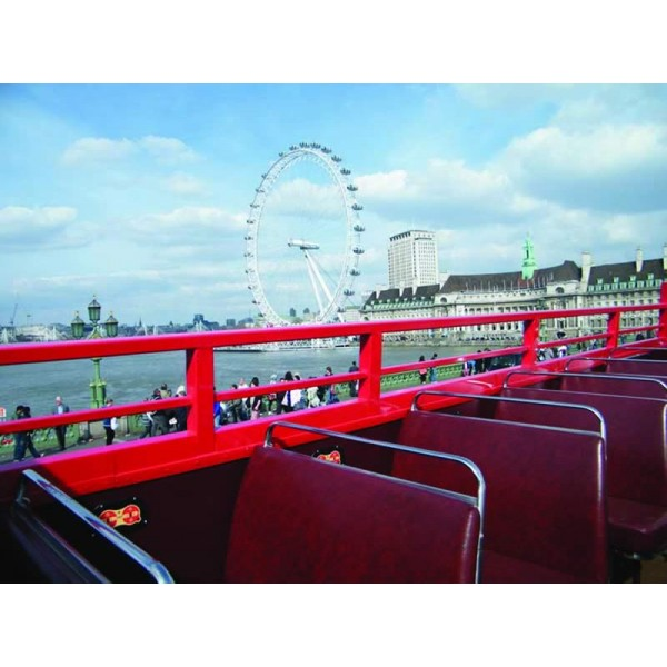 Free & Easy Day Trip to Paris with Open Top Bus – Standard Class-1