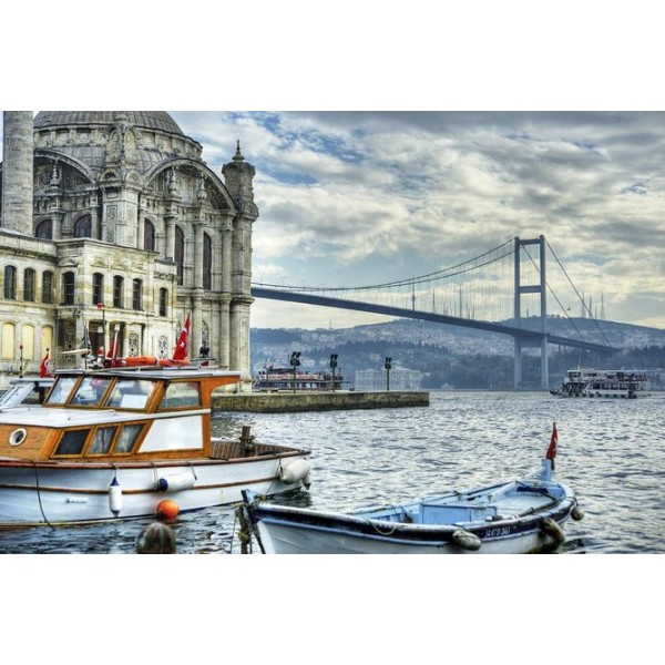 Bosphorus Cruise Included and Beylerbeyi Palace with 2 Continents-1
