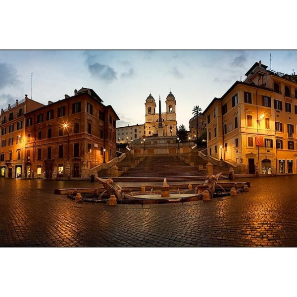 Piazzas of Rome Small-Group Sunset Tour-1